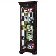 cherry curio cabinets cheap cherry traditional curio cabinets ebay