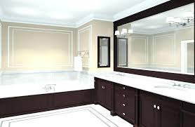 framed bathroom mirror ideas framed bathroom mirror ideas bathroom mirrors ideas home