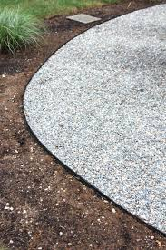 How To Make A Pea Gravel Patio Installing A Pea Stone Patio Shine Your Light