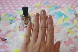 the no fail no scrape way i remove glitter polish