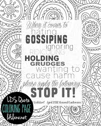 coloring page quotes nobby design ideas quote coloring pages lds page free printable