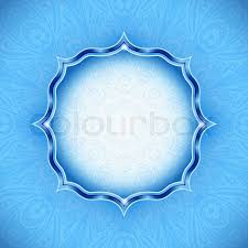 wedding backdrop design vector abstract winter background ornamental design cold blue
