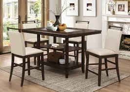 bestmasterfurniture winchester 5 piece counter height dining set