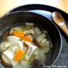 recettes cuisine bio cuisine bio japonaise soupe kenchin soupe bouddhiste aux légumes