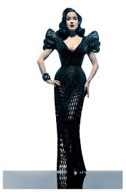 va va voom dresses michael schmidt puts the va va voom into a 3d printed dress and
