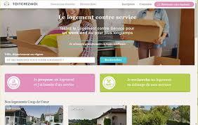 chambre gratuite contre service toitchezmoi com la plateforme dédiée au logement contre services