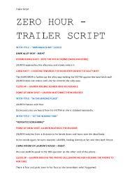 system analyst resume samples trailer script 2