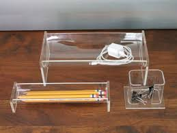 clear acrylic desk organizer clear acrylic lucite desk organizer set lucite desk organizers