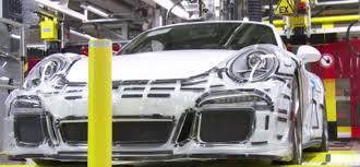 porsche 911 factory porsche 911 gt3 assembly factory dpccars