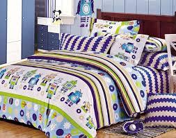 Kids Bedding Set For Boys by Furniture Bedroom 100 Cotton Minecraft Bedding Sets Boys Robot
