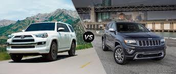 2006 jeep grand cherokee custom 2016 toyota 4runner vs 2016 jeep grand cherokee