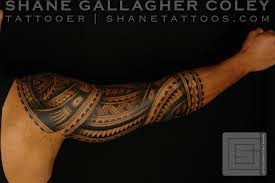 men sleeve cool polynesian tattoo design golfian com