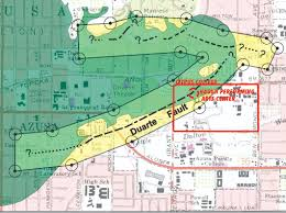 Fault Line Map What Lies Beneath Citrus College Clarion