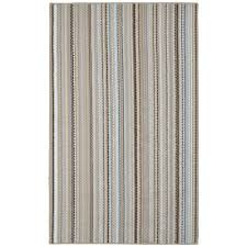 Earth Tone Pictures by Garland Rug Carnival Stripe Random Earthtone 6 Ft X 9 Ft Area