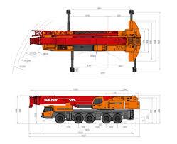 palfinger sany sac2200 all terrain crane u2013 220 tonnage mobile crane
