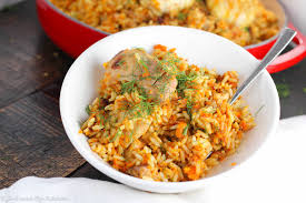 Kazan Kitchen Russian Plov A One Pot Chicken And Rice Recipe And The