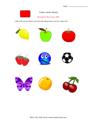 ideas of color recognition worksheets also cover mediafoxstudio com
