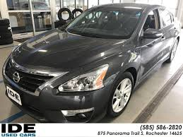 nissan altima 2013 bluetooth audio pre owned 2013 nissan altima 2 5 sl 4dr car in rochester uh5577