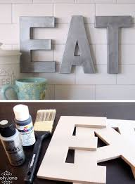 diy kitchen wall ideas 31 easy kitchen decorating ideas that won t the bank
