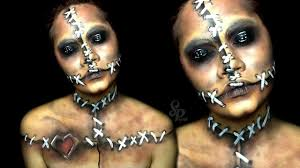 witch doctor and voodoo doll costume halloween series 2015 voodoo doll u2022 makeup youtube