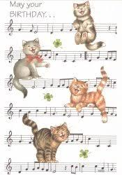 template free birthday ecards singing cats as well happy birthday musical cards gangcraft net