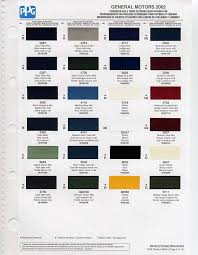 gm auto color chips color chip selection auto paint colors