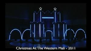 western mall christmas lights sioux falls award winning christmas lights at the western mall 2011 a christmas