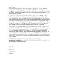 sample cover letter for entry level civil engineer