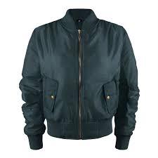 retro motorcycle jacket ladies girls womens us army badges airforce retro vintage biker