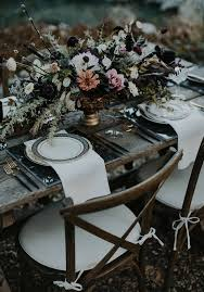 vintage haunted harvest wedding inspiration dark inspiration