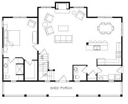 cottage homes floor plans cottage home plans with loft open floor plan house homes zone