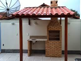Famosos construção de telhado colonial 1 agua para churrasqueira - FP  &VA11
