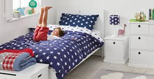 bedroom bed cover luxury navy star duvet cover set toddler gltc