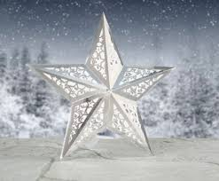 how beautiful made 3d festive stars with the cutting craftorium