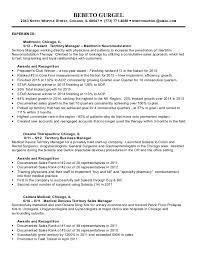 sales job resume