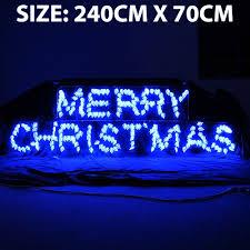 surprising led merry light sign rope chritsmas decor