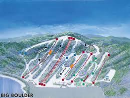 Ski Resorts Colorado Map by Big Boulder Trail Map