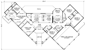 adobe home plans fordington luxury adobe home plan 072d 0820 house plans and more