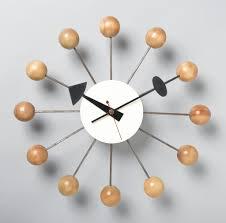 Herman Miller Clock Ball Wall Clock 1949 Objects Collection Of Cooper Hewitt