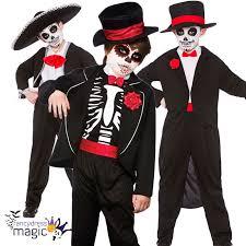 halloween costume mexican skeleton boys halloween fancy dress day of the dead skeleton costume