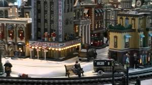 department 56 in the city display 06