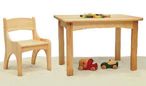 siège table bébé table enfant et chaise en aulne massif
