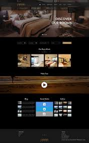 black u0026 gold wonderful design hotel website sketch template