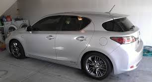 lexus ct200h sport my new tungsten pearl ct 200h f sport se