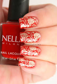 best 25 red and gold nails ideas on pinterest red french