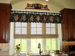 kitchen curtains and valances ideas kitchen valance curtains teawing co