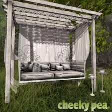 swing pergola fanciful daybed pergola for whimsical for whimsical u2026 flickr
