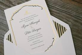 wedding invitations smock