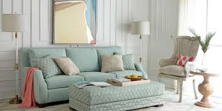 Living Rooms With Grey Sofas by Furniture Grey Sofa And Ottoman By Neiman Marcus Furniture For