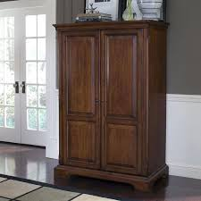 Computer Armoire Cabinet Armoire Solid Wood Computer Armoire Open Hutch Desk Storage
